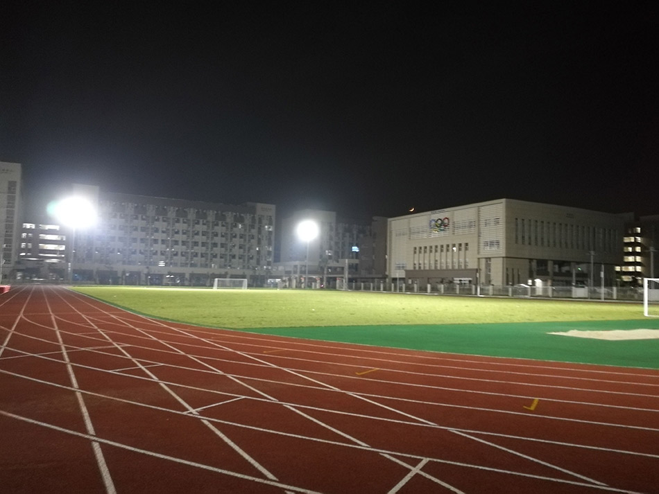 Guangdong Dong Hua Junior high School installed by SINOCO Lighting Manufacturer